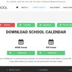 New California School Website